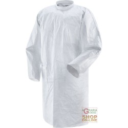 LAB COATS TYVEK PRACTIK EC 1 COLOR WHITE TG M-XXL