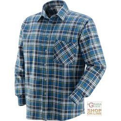 SHIRT FLANNEL PLAID LONG SLEEVES TG M-L-XL-XXL