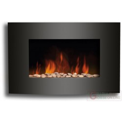 ELECTRIC FIREPLACE WALL-MOUNTED 900-1800W EF-11C