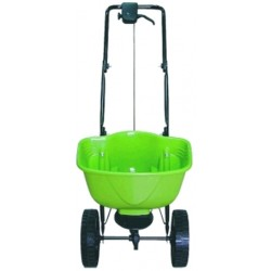 WHEELBARROW SALT SPARGICONCIME SPREADERS, SALT SEED FERTILIZER
