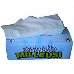 PAPER ASCIUGOTTO BAG 125 SHEETS OF 2-PLY CM. 25X22