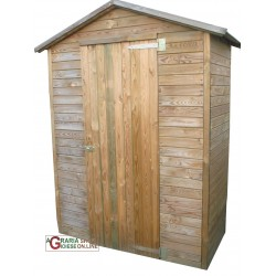 COTTAGE TOOL SHED FOR THE GARDEN WOOD CM. 175x83x215h.