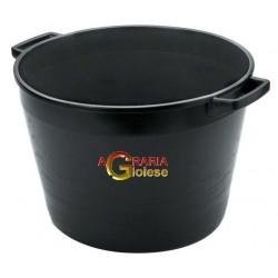 THE ROUND CASE FOR MASON RUBBLE MIXING LT. 40 BLACK