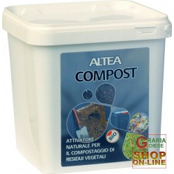 ALTEA COMPOST ACTIVATOR A NATURAL FOR THE COMPOSTING OF