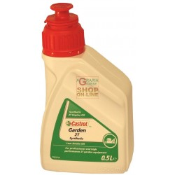 CASTROL GARDEN SYNT 2T SYNTHETIC OIL FOR 2-STROKE ENGINES LT.