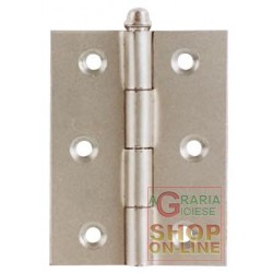 HINGES HEAVY ZINC PLATED MM. 76X63 ART. 96 PCS. 2