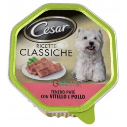 CESAR TRAY PATE WITH VEAL AND CHICKEN RECIPES, THE CLASSIC GR.