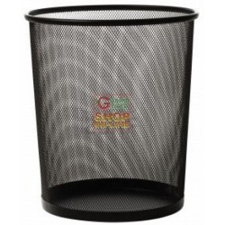 WASTE BASKET BLACK OFFICE CM. 27X30 H