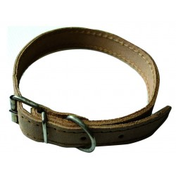 DOG COLLAR LEATHER WIDTH MM 12 CM LONG. 30