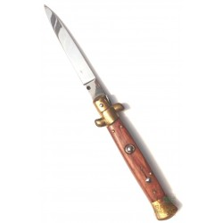 KNIFE SNAP POCKET NECK ROSEWOOD BRASS CM. 20