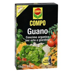 COMPO NATURAL FERTILIZER WITH GUANO KG. 1