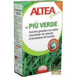 ALTEA MORE GREEN MANURE RINVERDENTE THAT inhibits THE FORMATION