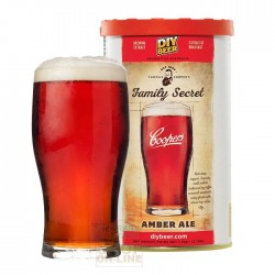 COOPERS MALT AMBER ALE MALT EXTRACT OF BARLEY AND HOPS FOR