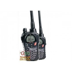 PAIR 2 MIDLAND TRANSCEIVER dual-band PMR446/LPD G9 BLACK USED