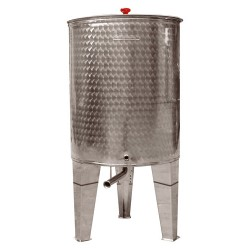 CORDIVARI STAINLESS STEEL CONTAINER FOR WINE, OIL AND HONEY LT.