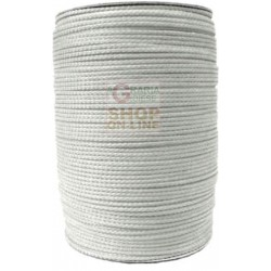 DRAWSTRING POLYPROPYLENE MM. 3 WHITE ADAPTABLE AS FISHING