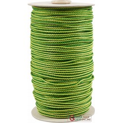 DRAWSTRING POLYPROPYLENE MM. 3 YELLOW GREEN ADAPTIVE EQUIPMENT