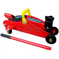 HYDRAULIC JACK TROLLEY-TWO TONS CASE TONS.2 JACKS FOR CAR