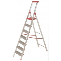 AMBER ALUMINIUM LADDER STEPS 6 BLUE