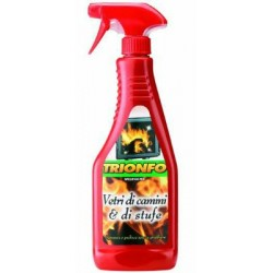 DETERGENT TRIUMPH SPRAY GLASS STOVES AND FIREPLACES ML.500