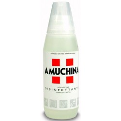 AMUCHINA DISINFECTANT, BACTERICIDAL DEGREASER FOR HEALTH LT. 1