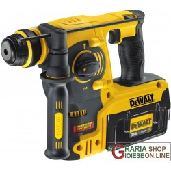 DeWALT TASSELLATORE SDS PLUS PROFESSIONALE CON DUE BATTERIE