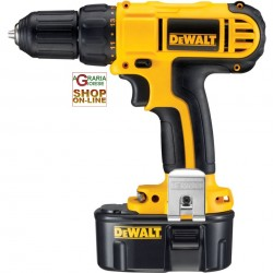 DEWALT DRILL SCREWDRIVER 14.4 V DC733C2 WITH 2 BATTERIES
