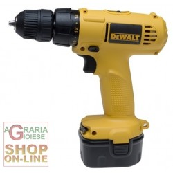 DEWALT DRILL WITH 2 BATTERIE12V DW907K2