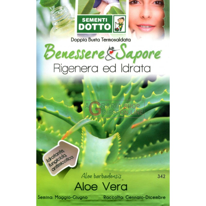 DUCT ENVELOPES THE SEEDS OF ALOE VERA