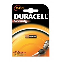 DURACELL ALKALINE BATTERY 12V MN27 2015 PCS. 1