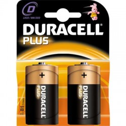 DURACELL ALKALINE BATTERY, TORCH MN1300 PCS.2