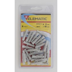 ELEMATIC BLISTER TASSELLI AND 6 PCS. 30