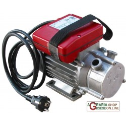 ELECTRIC PUMP, DECANTING STAINLESS STEEL HP. 0.5 mm. 20