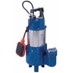 SUBMERSIBLE PUMP FOR SEWAGE WATER VORTEX 1-1/2 HP. 1,2