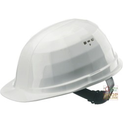 PROTECTIVE HELMET OF POLYETHYLENE WITH SWEATBAND WEIGHT GR 310