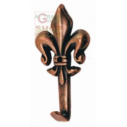 APPENDIQUADRO LILY BRONZE FINISH No. 0 MM 32 HIGH PCS. 5