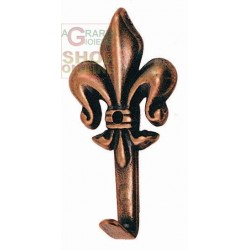APPENDIQUADRO LILY BRONZE FINISH No. 1 MM. 36 HIGH PCS. 5