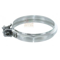 CLAMP FIXING JUNCTION IN STAINLESS STEEL AISI 304 FOR HOSE