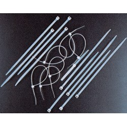 CABLE TIES NYLON BLACK MM 7,5 X 450 PCS. 100