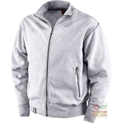 SWEATSHIRT 65% POLYESTER 35% COTTON GR 290 SQM LONG ZIP COLOR