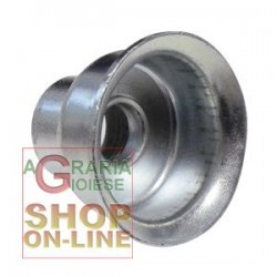 FERRARI BUSHING ZINC-PLATED, FULL DIAM. 26 AND THE CAPPING