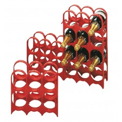 FERRARI WINE CELLAR AND THE PLASTIC BOTTLE HOLDER 6 PLACES