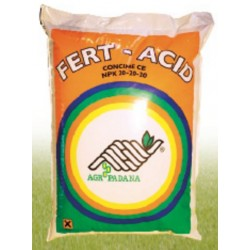FERT-ACID fertilizer liquid fertilizer N. P. K. 20.20.20 with
