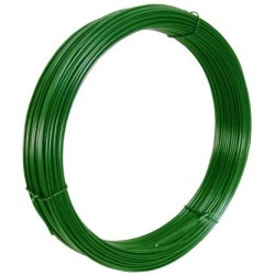 IRON WIRE PLASTICIZED IN GREEN FOR VOLTAGE MT. 100 MM, 1,8