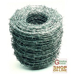 BARBED WIRE, the THORNY No. 16 MT. 200 KG. 25