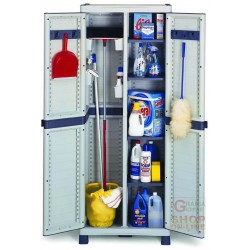 WARDROBE TERRY PLASTIC DOMINO BASIC-3700 PARTITION CM.