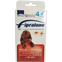 Fipralone pesticide flea and tick spot-on dog 40 - 60 kg