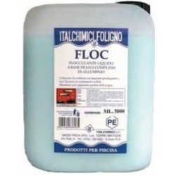 FLOCCULANT LIQUID PLOP FOR THE POOLS LT.5