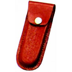 SHEATH FOR KNIVES SWITCHBLADE GENUINE LEATHER MM. 125
