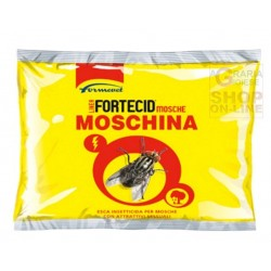 Fortecid bait granular insecticide for flies with attractive